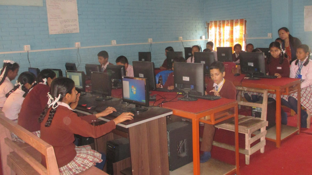 Computer lab In UEBS