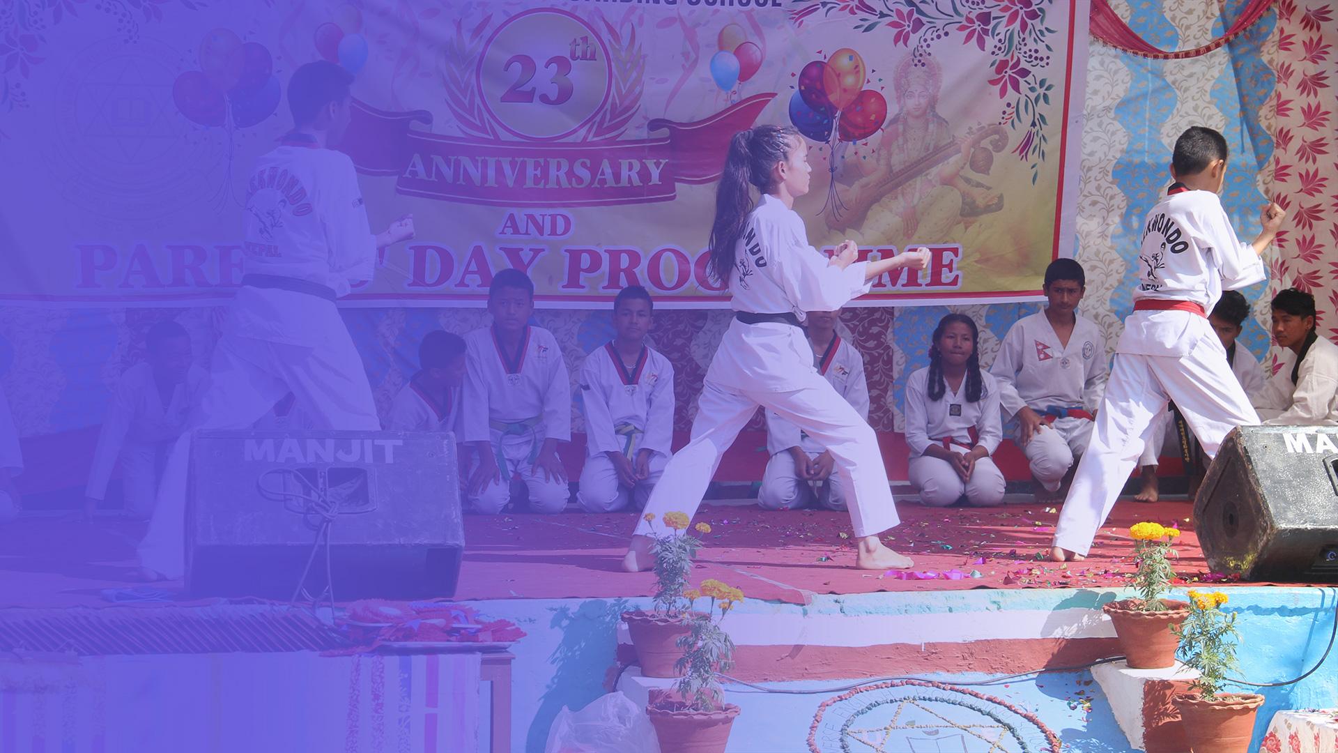Taekwondo In UEBS